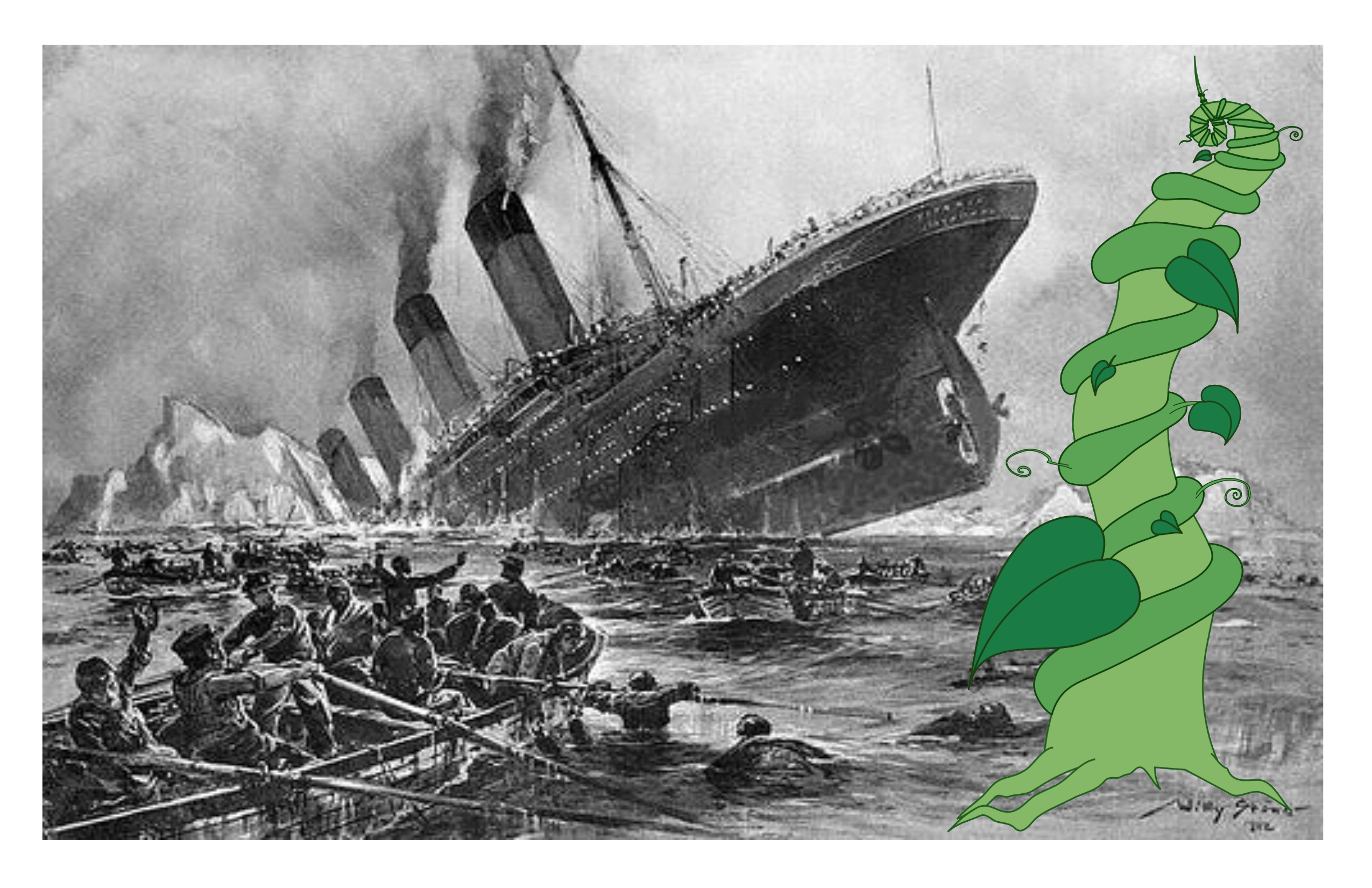 Jack's Beanstalk and Titanic